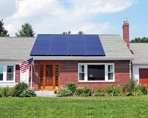 * Home Solar Power System.