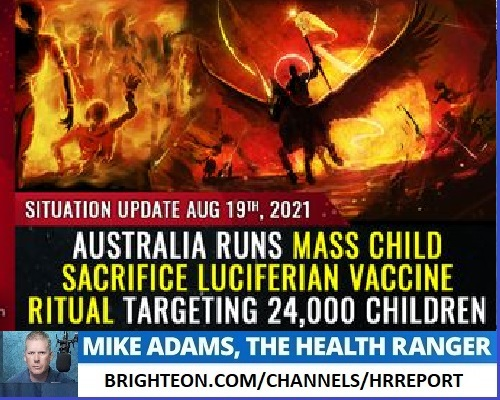 Image: MASS HYPNOSIS: The disturbing psychology behind the global vaccine SUICIDE CULT